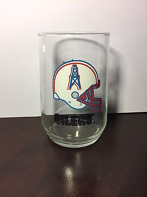 Houston Oilers Glass