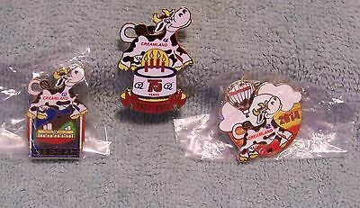 Creamland Lot Of 3 Balloon Pins From 2006, 2012 & 2014