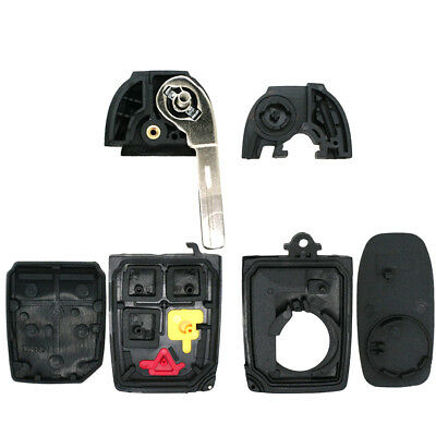 5 Buttons Flip Key Shell Fit For VOLVO S60 S80 V70 XC70 XC90 Remote Case FOB