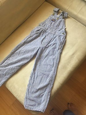 oshkosh overalls Size 5 Railroad Striped