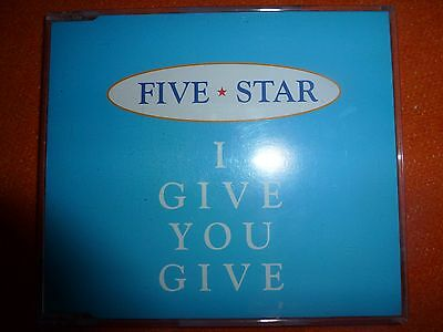 Five Star 5 * I Give You Give (RARE 1995 -TRI RECORD) Cd SINGLE
