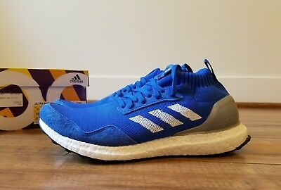 on sale f32a0 d024b Brand NEW ADIDAS ULTRA BOOST MID RUN THRU TIME BLUE BY5036 size 9 receipt