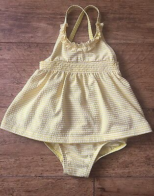 Next Baby Girls Swimsuit Age 6-9 Months