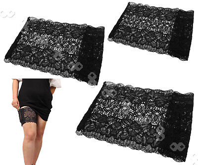 Soft Lace Non Slip Anti-Chafing Thigh Cover Prevent Thigh Chafing Sock 3 Size