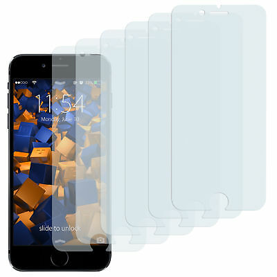 mumbi 6x Folie für Apple iPhone 6 / 6s Schutzfolie klar Displayschutz Display