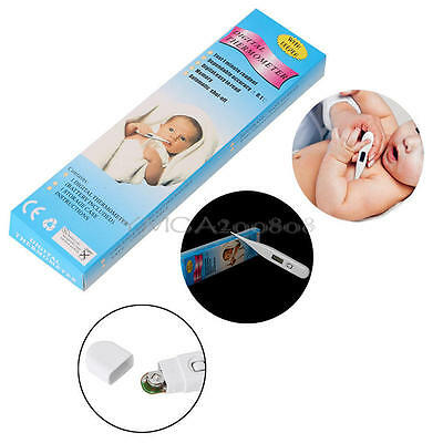 Home Digital LCD Medical Thermometer Mouth Underarm Baby Body Care Temperature