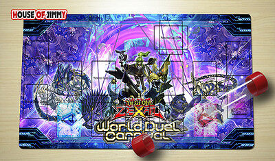 Design by Jimmyhu New Zone Yugioh Custom Made Play Mat Yugioh FREE TUBE #019
