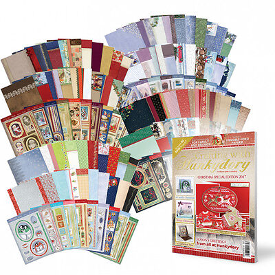 Hunkydory Christmas 2017 Card Making Craft Topper Kits or Magazine or Inserts