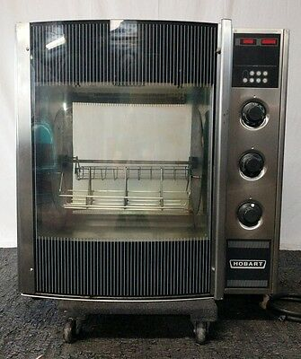 Nice! Hobart Hr5E Commercial Dual 1/3 Phase 208 Electric Chicken Rotisserie Oven