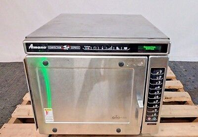 Amana ACE19 Convection Express Commercial Combination Fast Cook Turbo Oven