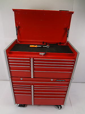 Snap On KRL 1201 1001 Collectible Die Cast Miniature Metal Tool Chest Coin Bank