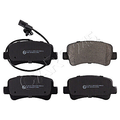 Brake Pads Set fits NISSAN NV400 X62 2.3D Rear 2011 on B/&B 4406000Q0G 4406000Q0L