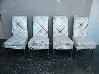 Set of Four High Back Mid-Century Dining Room Chairs 1887