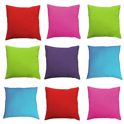 """18"""" 16""""  Water Resistant Outdoor Garden Scatter Cushions Filled with Pads"""