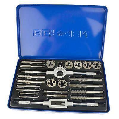Whitworth Tap and Die Set BSW British Standard 23pc By BERGEN AT045