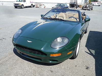 1997 Aston Martin DB7 Volante Convertible 2-Door 1997 Aston Martin DB7 Volante Convertible 2-Door 3.2L