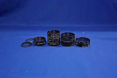 LOT of Various 49MM 52MM 55MM 58MM Lens Filters #L1887BP
