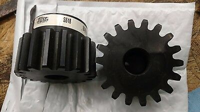 """Martin S618 18 tooth Spur Gear - 6 DP, 14.5 ° Angle, 1"""" Bore"""
