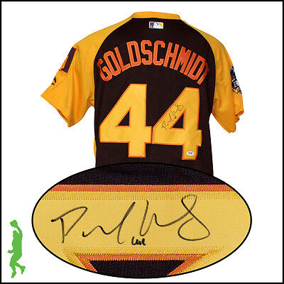 Paul Goldschmidt Autographed Signed 2016 All-Star Baseball Jersey Psa/dna Coa