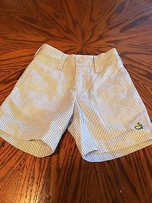 Master's Seersucker Shorts- 2T- Augusta National!