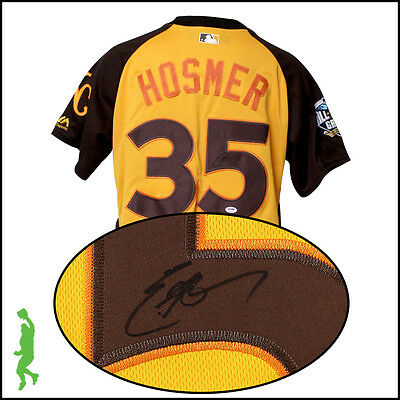 Eric Hosmer Autographed Signed 2016 All-Star Baseball Jersey Psa/dna Royals Coa