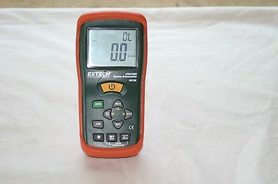 Extech AN100 CFM/CMM Thermo-Anemometer Meter Temperature Air Velocity No Probe