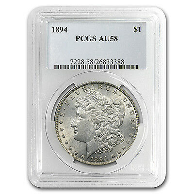 1894 Morgan Dollar AU-58 PCGS