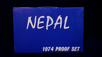 1974 Nepal Proof Set