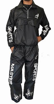 Master Sports Sauna Suit Weight Burner Fitness Slimming Track Suit Design M- 4XL