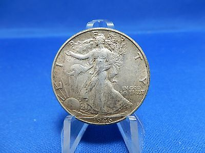 1946 Walking Liberty Silver Half Dollar Coin - About Uncirculated