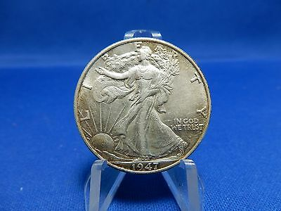 1947 Walking Liberty Silver Half Dollar Coin - About Uncirculated