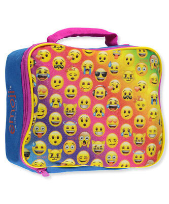 "Emoji ""Rainbow Emotions"" Insulated Lunchbox - yellow/blue, one size"