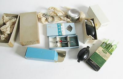 VTG Lot Medical Tools Surgical Instruments Weck Eye Scissors Tycos Bulb Valve