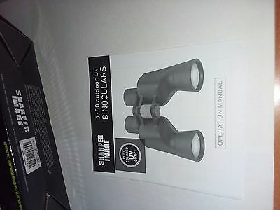 Sharper Image 7X50 outdoor UV Binoculars
