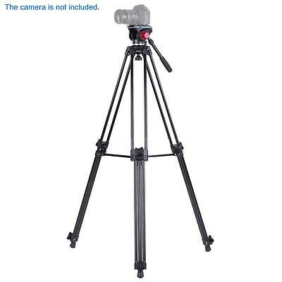 "Professional 72"" Heavy Duty Video Camera Camcorder Tripod Stand Fluid Head V8K1"