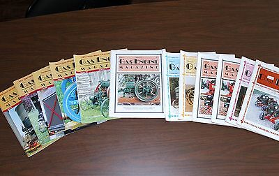 Gas Engine Magazine 1980's, 90's, & 2000's 12-Issues