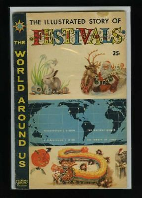 The World Around Us #17 VG/F 1960 Gilberton Story of Festivals Comic Book
