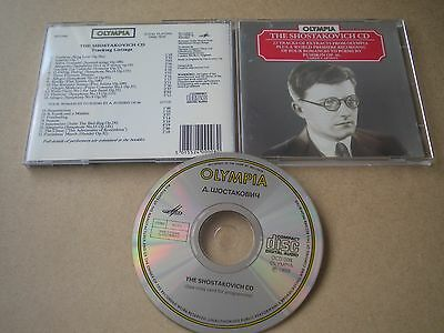 The Shostakovich CD Album Olympia OCD 008