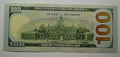 ONE* $100 2009 US Hundred Dollar Bill (1) STAR *NOTE  UNCiRCULATED!