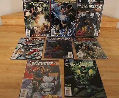 Lot of (8) DC The New 52 Comic Books: Justice League DeathStroke +