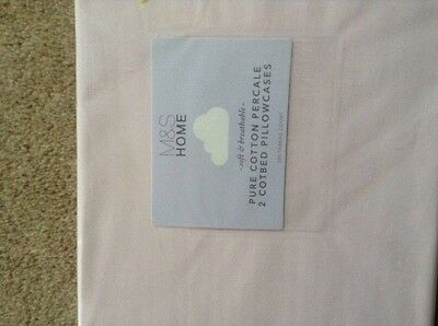marks&spencers cot bed pillow cases