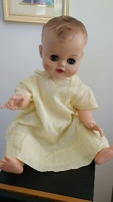 Vintage Betsy Wetsy Doll and Clothes 20""