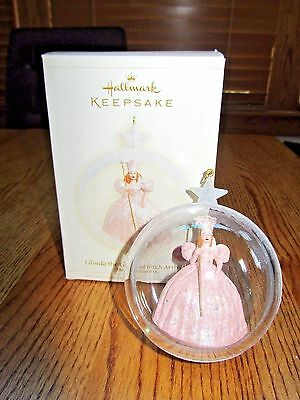 Hallmark Wizard Of Oz-Glinda The Good Witch Arrives In Sparkle Bubble-2006-New!