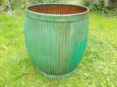 Vintage Galvanised Dolly Peggy Tub Ideal Planter