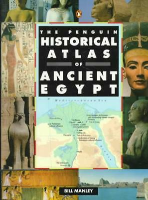 The Penguin Historical Atlas Of Ancient Egypt - Manley, Bill - New Paperback Boo