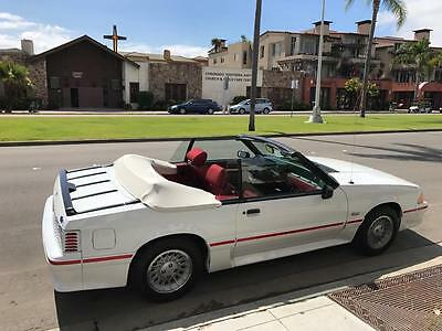 1989 Ford Mustang GT 1989 25th Aniverssary Edition Ford Mustang 5.0 GT