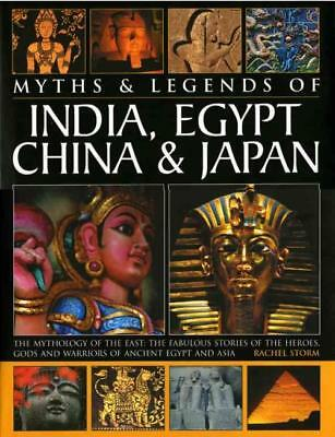 Legends & Myths Of India, Egypt, China & Japan - New Hardcover Book