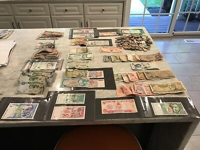 World Lot Different Banknotes 18 Countries