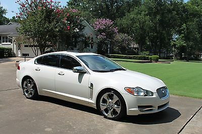 2009 Jaguar XF Supercharged Perfect Carfax Great Service History Nav Moonroof Chrome Wheels