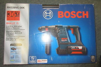 "*new* Bosch Rh328Vc-36K 36V 1 -1/8"" Sds-Plus Rotary Hammer Drill"